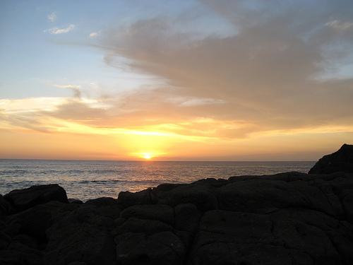 Las Penitas beach in Nicaragua
