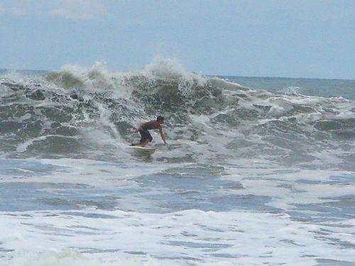 Patricio surfing in Las Penitas